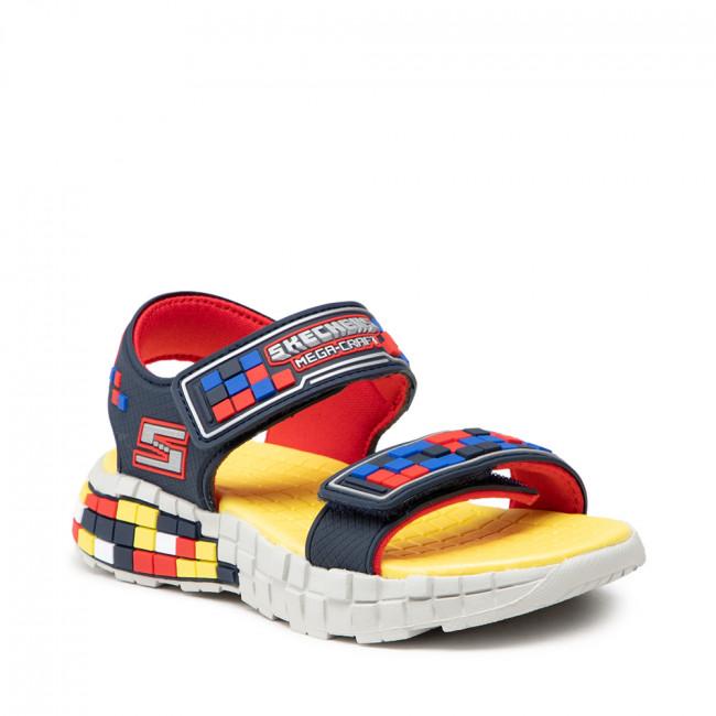 Szandál SKECHERS - Craft Sandal 400070L/NVRD Navy/Red