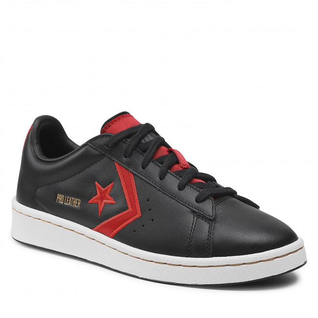 Sportcipő CONVERSE - Pro Leather Ox 168871C Black/University Red/White