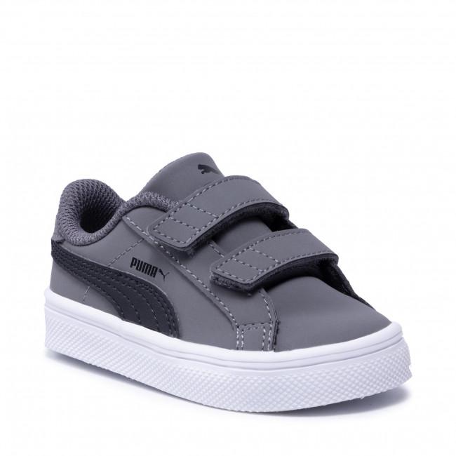Sportcipő PUMA - Smash Vulc Inf 370706 03 Steel Gray/P Black/P White