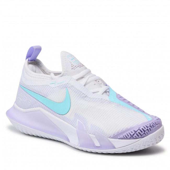 Cipő NIKE - React Vapor Nxt Hc CV0742 124 White/Copa Purple/Pulse Volt