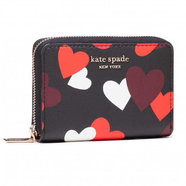 Kis női pénztárca KATE SPADE - PWR00228 Black Multi