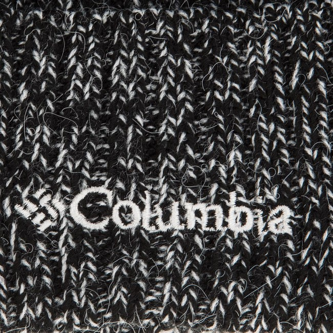 305f6a0e7 Sapka COLUMBIA - Watch Cap 1464091 Black And White Marled 012