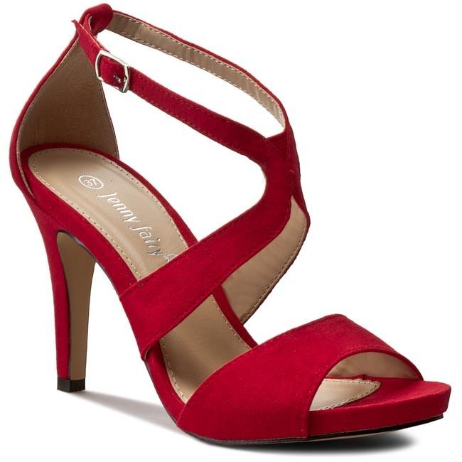 Jenny Női Piros Szandál