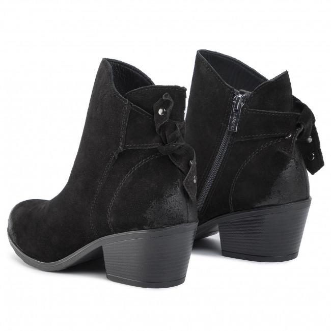 Magasított cipő LASOCKI RST CORIA 02 Black