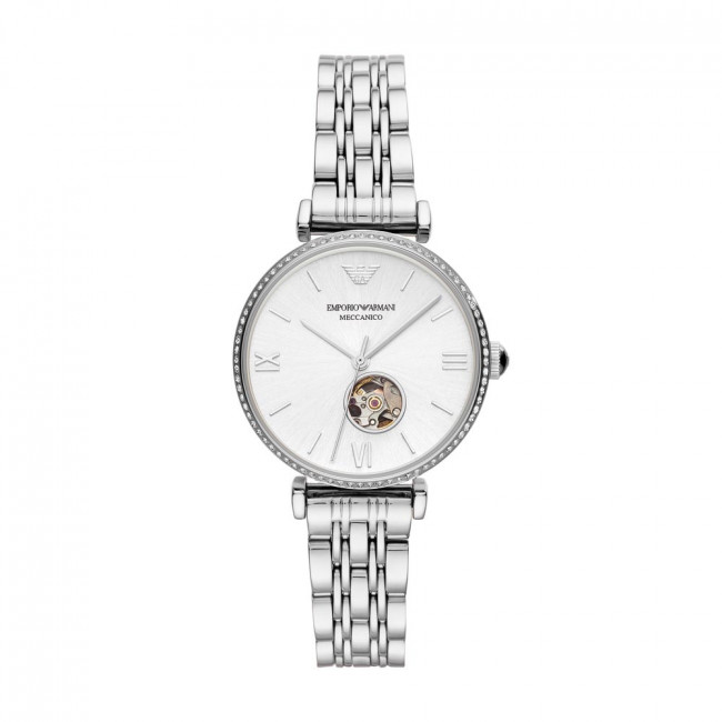 Karóra EMPORIO ARMANI - Horloge AR60022 Silver/Silver