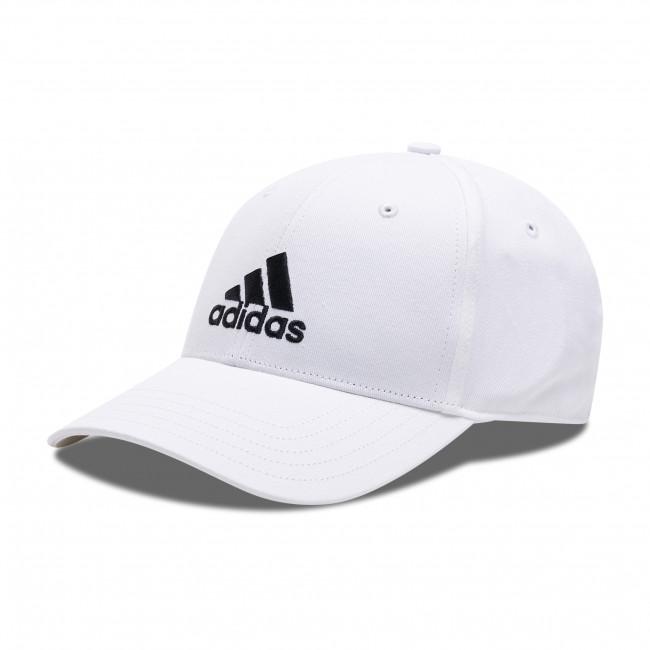 Baseball sapka adidas - Baseball Cap FK0890 White/White/Black