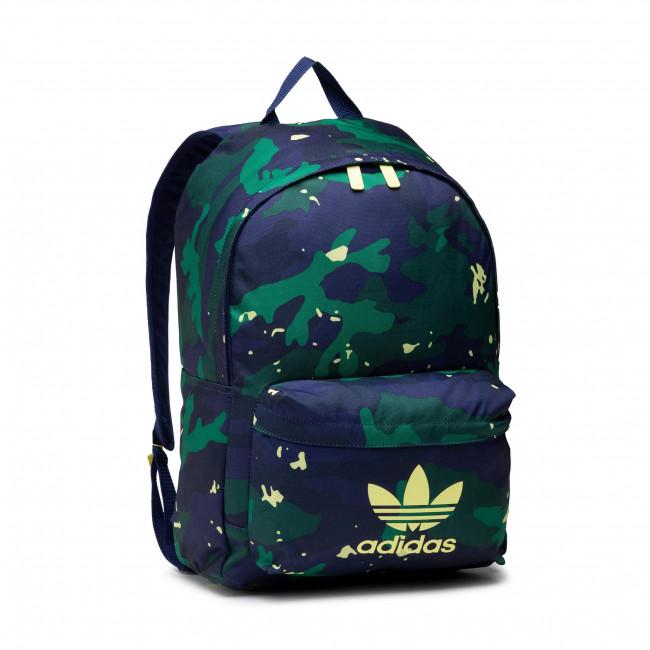 Hátizsák adidas - Camo Youth Cl B H34666 Cgreen/Ngtsky/Pulyet