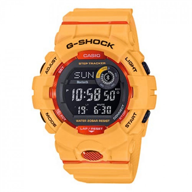 Karóra G-SHOCK - GBD-800-4ER Orange/Orange