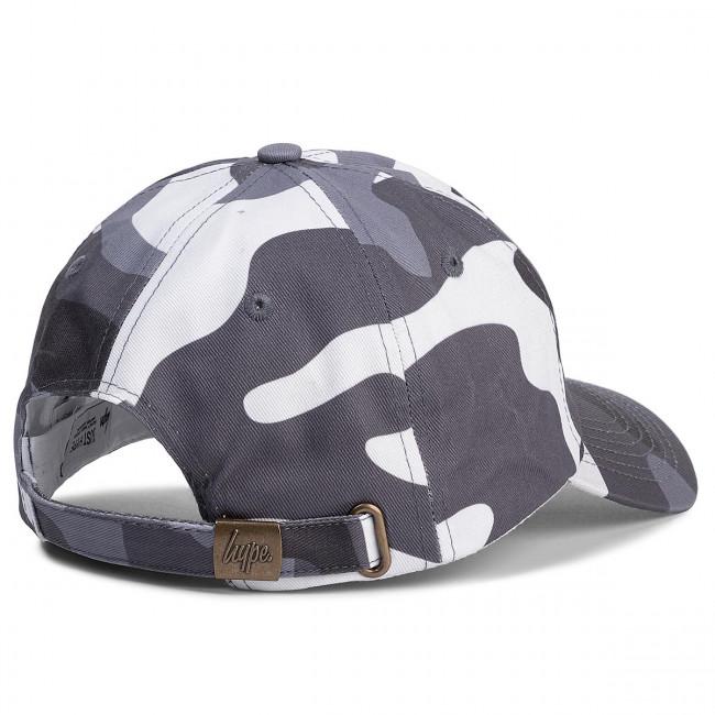 Baseball sapka HYPE - Dad Hat HY006-0112 Grey/White - Férfi - Sapkák - Textília - Kiegészítők