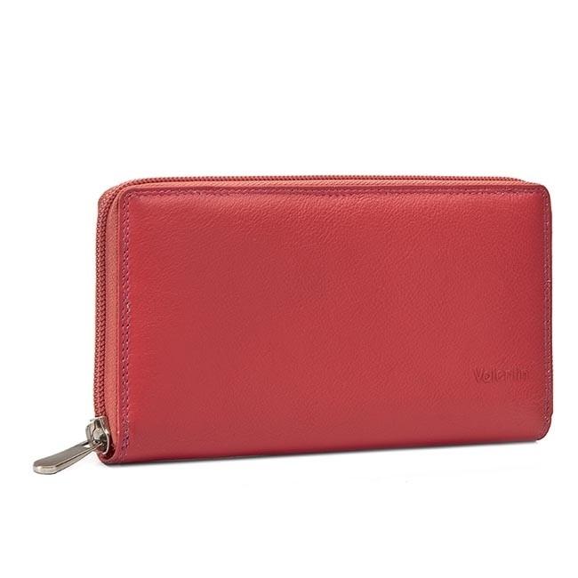 Nagy női pénztárca VALENTINI - 123-866 Lipstick Pink