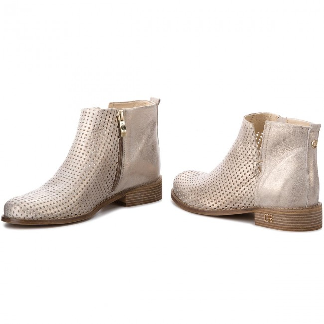 Magasított cipő CARINII B4342M F76 000 000 C97