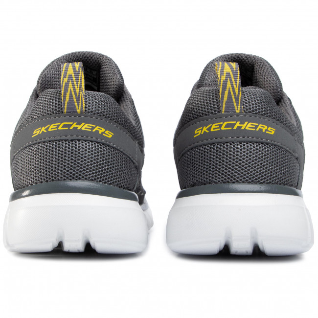 Csökkentett Ár Férfi Cipők Cipő SKECHERS - Strategic 999789 CHA Grey - Fitnesz - Sport - Férfi FPlHwb9C