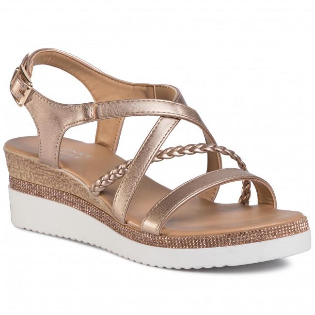 Szandál JENNY FAIRY - WS2189-02 Silver - Magasított sarkú cipők - Papucsok és szandálok - Női