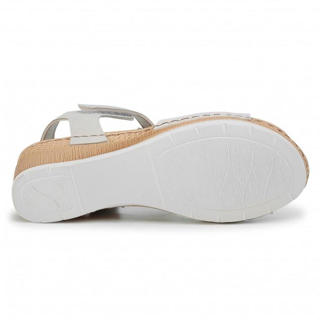 Remek Ajánlatok Női Cipők Szandál INBLU - EPABOO01 Silver - Magasított sarkú cipők - Papucsok és szandálok - Női qEmOZN3B
