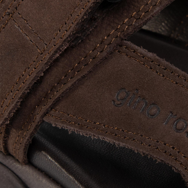 Szandál GINO ROSSI - MB-A452-21 Brown - Szandálok - Papucsok és szandálok - Férfi