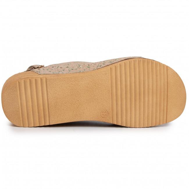 Online Vásárlás Női Cipők Szandál LASOCKI - ARC-1891-02 Beige - Magasított sarkú cipők - Papucsok és szandálok - Női cImF3eaA