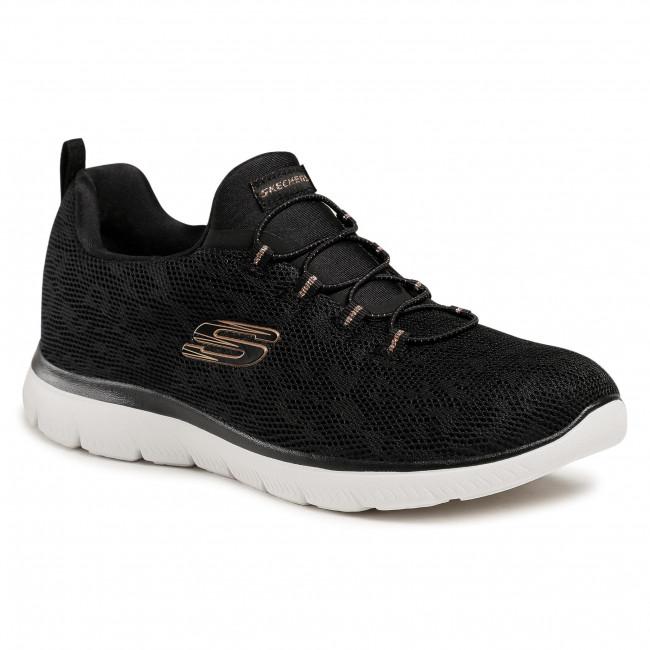Cipő SKECHERS - 149037 BKRG Black