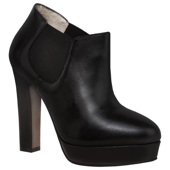 Magasított cipő BRUNO PREMI - P6400G Nero