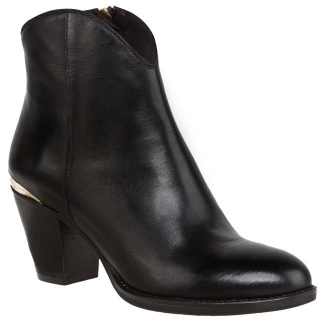 Magasított cipő BRUNO PREMI - P2901P Nero