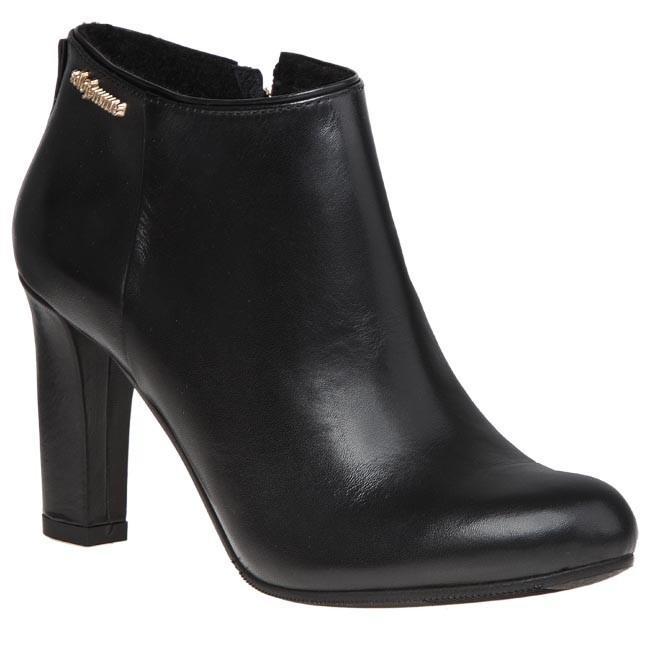 Magasított cipő SOLO FEMME - 73905-02-C39/000-02-00 Fekete