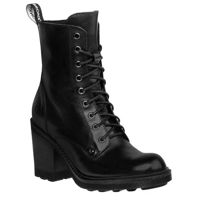 Magasított cipő BRONX - 33561-F 1 Fekete