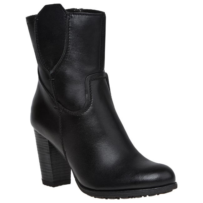 Magasított cipő NESSI - 44003 1 Fekete