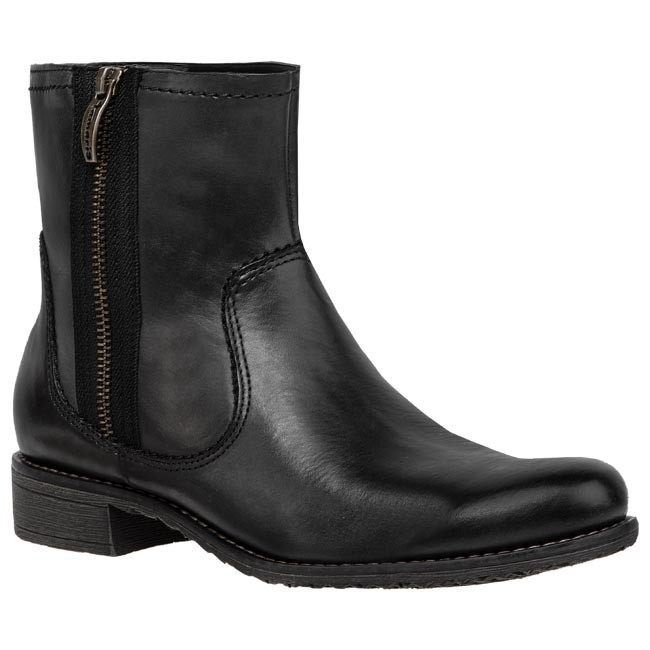 Magasított cipő TAMARIS - 1-26411-31 Black Antic 002
