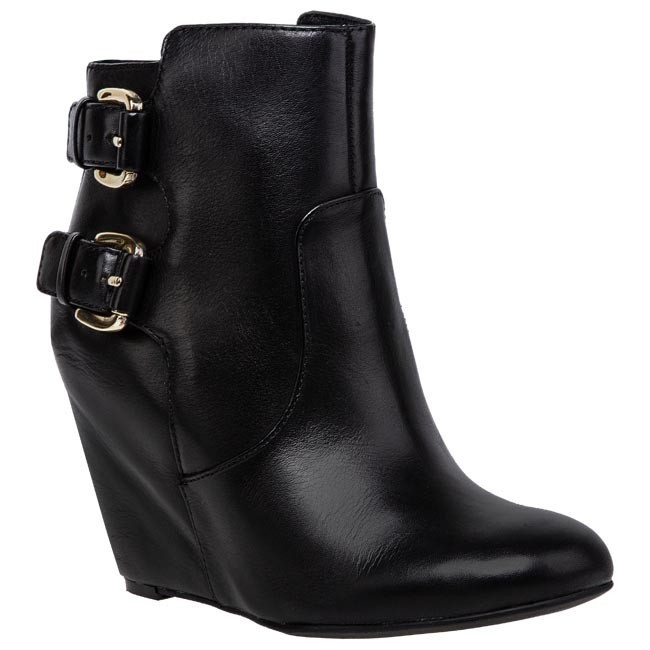 Magasított cipő GUESS - Ulfred FL4ULFLEA09 Black