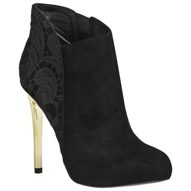 Magasított cipő GUESS - FL6POESUE09 Black