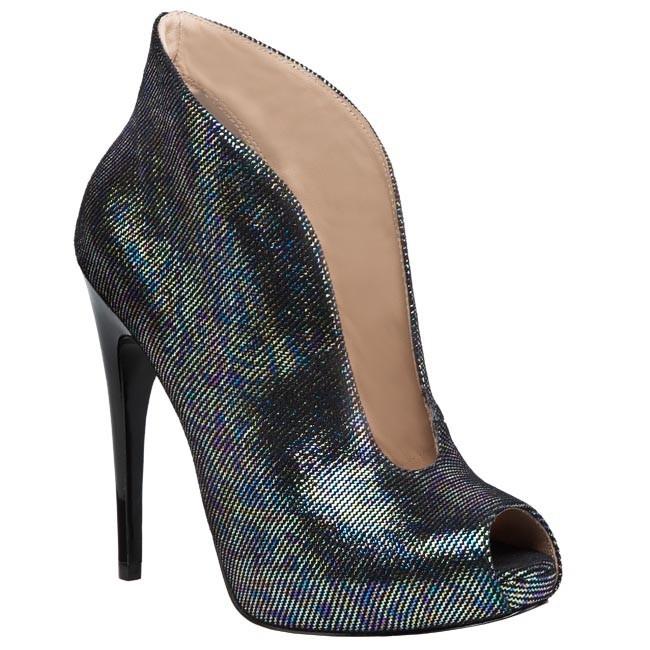 Magasított cipő GUESS - FL4QUISUP09 Black