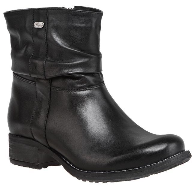 Magasított cipő AXEL - 4083 Fekete