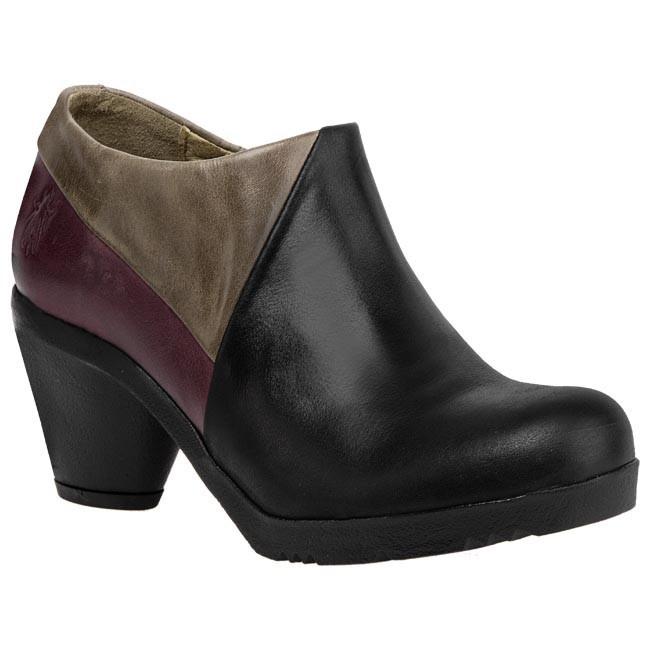 Magasított cipő FLY LONDON - Fuia P142752004 Fekete Lila Szürke