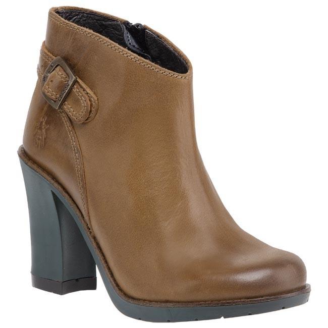 Magasított cipő FLY LONDON - Terr P142798003 Camel