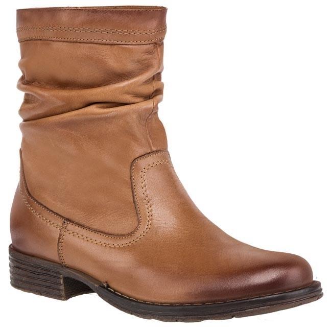 Magasított cipő EKSBUT - 2110-560-1G Barna