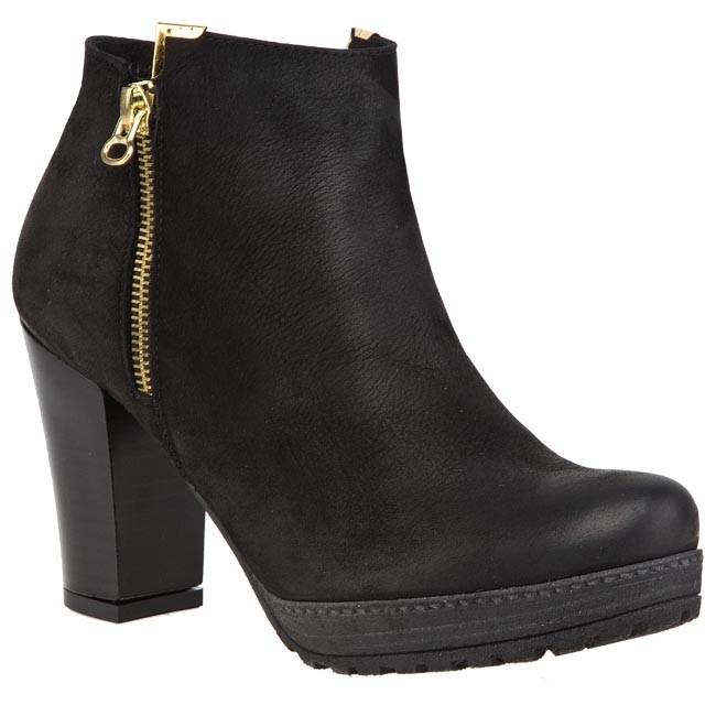 Magasított cipő OLEKSY - 57 623 Fekete