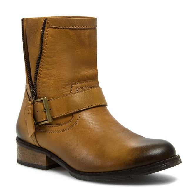Magasított cipő NESSI - 407/O Camel 8