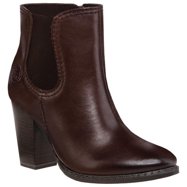 Magasított cipő MARCO TOZZI - 2-25390-21 325 Mocca Antic