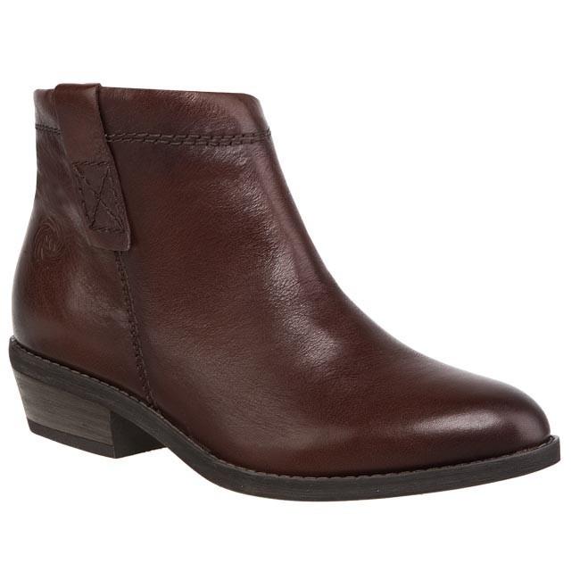 Magasított cipő MARCO TOZZI - 2-25357-21 Chestnut Antic 357