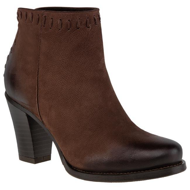 Magasított cipő PALAZZO - 30.009-0030-4800-FS Barna