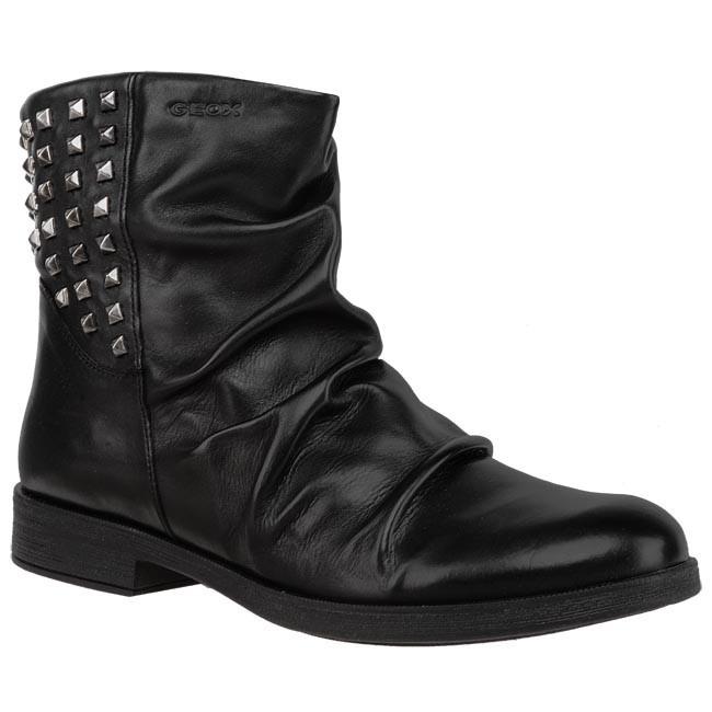 Magasított cipő GEOX - J Agata A J3449A 00043 C9999 Fekete