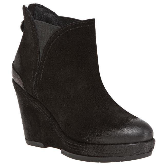 Magasított cipő GEOX - D Armonia ST N D3441N 00023 C9999 Fekete