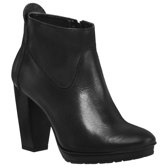 Magasított cipő TAMARIS - 1-25168-31 001 Fekete