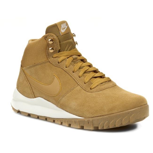 Cipők NIKE Hoodland Suede 654888 727 Haystock Light Brown Metallic Gold