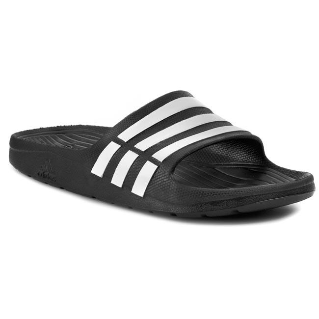 Adidas Men DURAMO Slide Slippers Sandals Shoes Black G15890