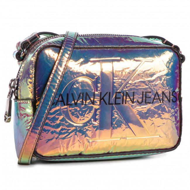 Retikül CALVIN KLEIN JEANS - Camera Bag Iridescent K60K607379 0IY
