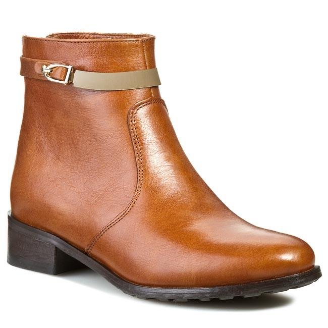 Magasított cipő EKSBUT - 2178-899-1G Barna