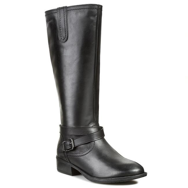 Csizmák TAMARIS - 1-25623-21 Black Leather 003