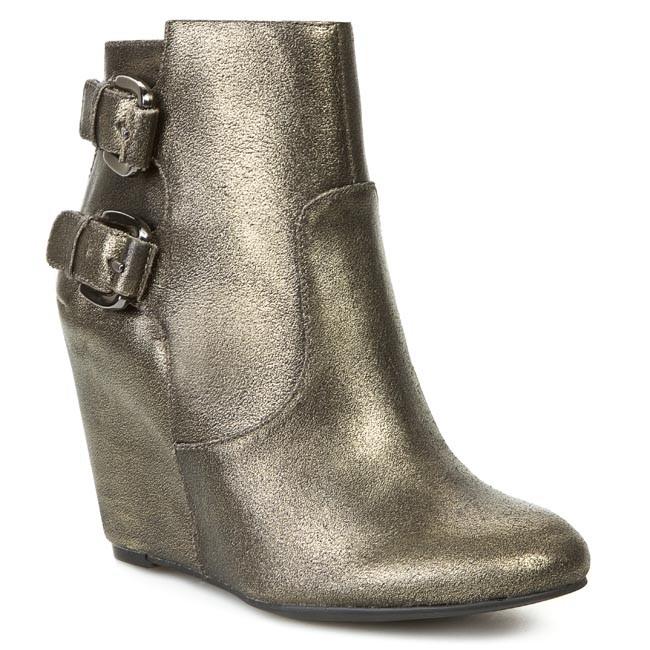 Magasított cipő GUESS - Ulfred FL4ULF LEM09 DBWBR
