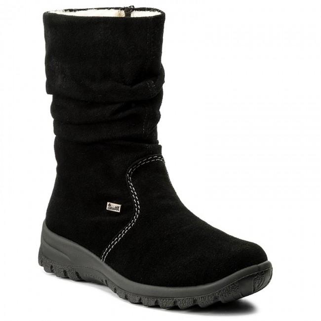 Magasított cipő RIEKER Z7171 01 Schwarz