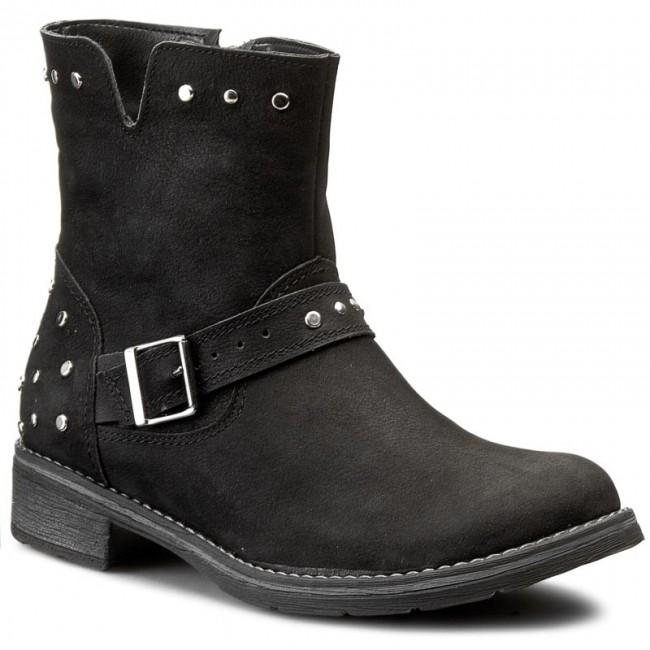 Magasított cipő SILWANO - 146 Czarny N.